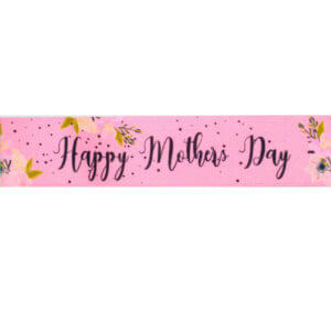 Pink Happy Mothers Day Ribbon