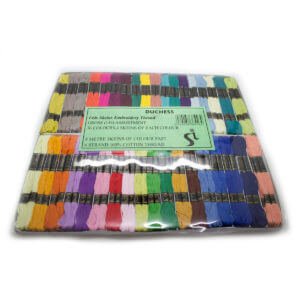 Assorted Box of Duchess Embroidery Sewing Thread