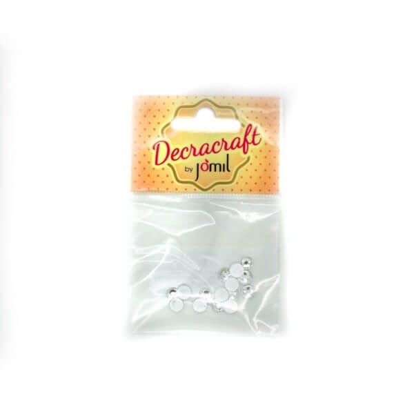 Decracraft Clear Glass Diamantes