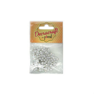 Decracraft Clear Non-Hot-Fix Diamantes
