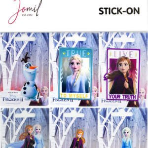 Stick-On Full Frozen Motif Card