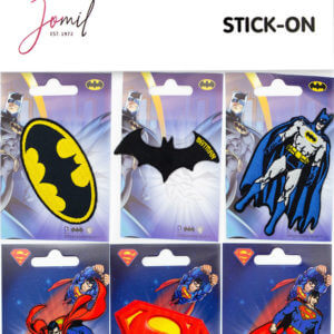 Stick-On Full DC Heroes Motif Card