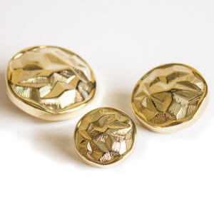 Gold Plated Buttons