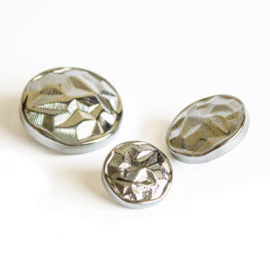Silver Plated Buttons