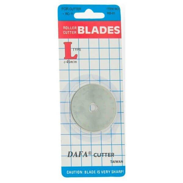 45mm Roller Cutter Blades in Packaging