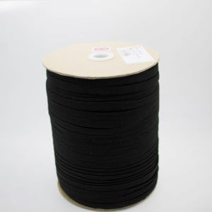 Black elastic cord