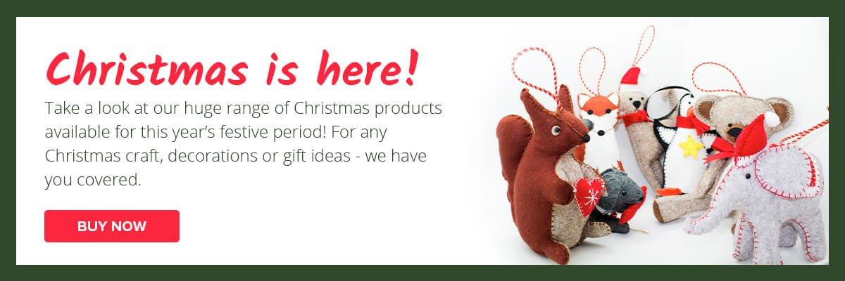 Jomil Christmas Banner with Felt Kits